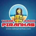 Logo da emissora Rádio Piranhas.Com