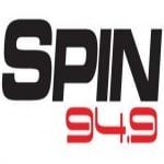 Logo da emissora Radio Spin 94.9 FM