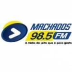 Logo da emissora Rádio Machados 98.5 FM