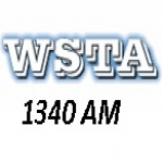 Logo da emissora WSTA 1340 AM