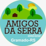 Logo da emissora Amigos da Serra Gramado