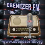 Logo da emissora Ebenézer FM