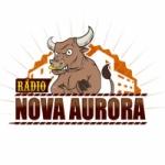 Logo da emissora Rádio Nova Aurora