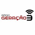 Logo da emissora Rádio Geração 3