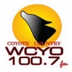 Logo da emissora Radio WCYO 100.7 FM
