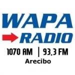 Logo da emissora Wapa Radio 93.3 FM