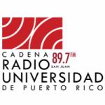 Logo da emissora Radio Universidad de Puerto Rico 89.7 FM