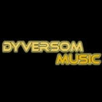 Logo da emissora Dyversom Music