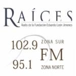 Logo da emissora Radio Raíces 102.9 FM