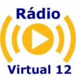Logo da emissora Rádio Virtual 12