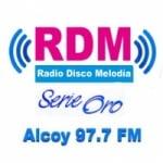 Logo da emissora Radio Disco Melodia 97.7 FM
