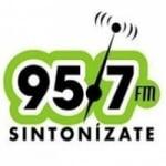 Logo da emissora Radio 95.7 FM