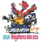 Logo da emissora Radio Q Velkaton 107.0 FM