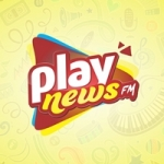 Logo da emissora Play News FM