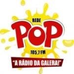 Logo da emissora Rede Pop