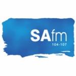 Logo da emissora Radio SA 105.4 FM