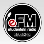 Logo da emissora Radio Studentski eFM Radio 95.2 FM