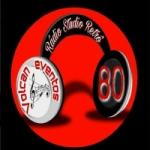 Logo da emissora Rádio Studio Retrô 80