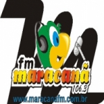 Logo da emissora Rádio Maracanã 106.3 FM