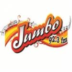 Logo da emissora Radio Jumbo 92.3 FM