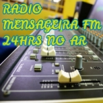 Logo da emissora Rádio Mensageira FM