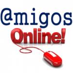 Logo da emissora Rádio Amigos Online