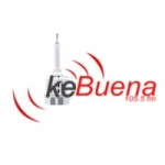 Logo da emissora Radio Ke Buena 105.5 FM