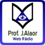 Logo da emissora Web Rádio Professor J. Alaor