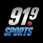 Logo da emissora Radio CKLX Sports 91.9 FM