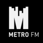 Logo da emissora Radio Metro 88.6 FM