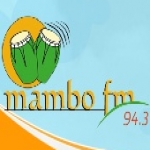 Logo da emissora Radio Mambo 94.3 FM
