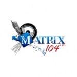 Logo da emissora Radio Matrix 104.7 FM