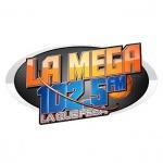 Logo da emissora Radio Mega 102.5 FM