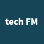 Logo da emissora Rádio Tech FM