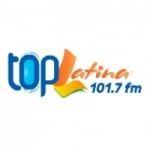 Logo da emissora Radio Top Latina 101.7 FM