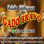 Logo da emissora Rádio Difusora Gado Bravo
