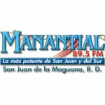 Logo da emissora Radio Manantial 89.5 FM