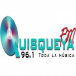 Logo da emissora Radio Quisqueya 96.1 FM