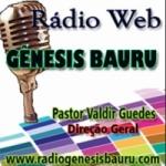 Logo da emissora Rádio Genesis Bauru