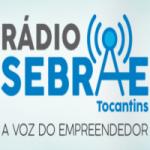 Logo da emissora Rádio Sebrae Tocantins