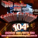 Logo da emissora Web Rádio Castelo do Piauí