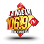 Logo da emissora Radio La Nueva 106.9 FM