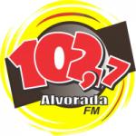 Logo da emissora Rádio Alvorada 102.7 FM