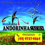 Logo da emissora Rádio Andorinhas