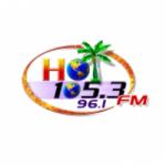 Logo da emissora Radio Hot 105.3 FM