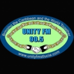 Logo da emissora Radio Unity 90.5 FM