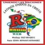 Logo da emissora Radio Latinos Unidos en Cristo