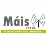 Logo da emissora Rádio Mais 99 FM
