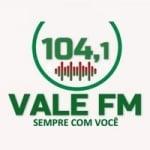 Logo da emissora Rádio Vale 104.1 FM
