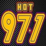 Logo da emissora Radio Hot 97.1 FM